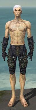 Necromancer Krytan Armor M gray arms legs front