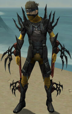 Assassin Ancient Armor M dyed front