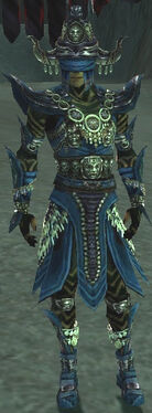 Ritualist Obsidian Armor M dyed front