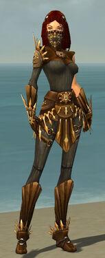Ranger Elite Sunspear Armor F gray front