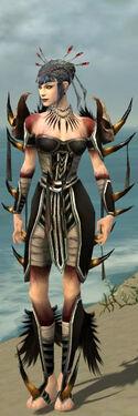 Necromancer Ancient Armor F gray front