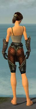 Warrior Kurzick Armor F gray arms legs back