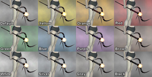 Platinum Staff dye chart