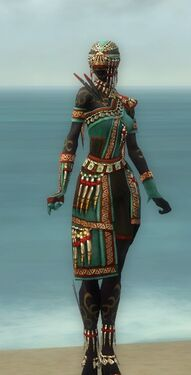Ritualist Elite Canthan Armor F dyed front