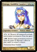 Entropy Guildwiki Laxative MTG card