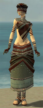 Ritualist Exotic Armor F gray front