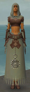 Dervish Sunspear Armor F gray front