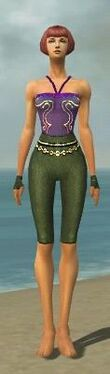 Mesmer Luxon Armor F gray arms legs front