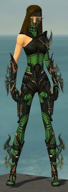 Assassin Elite Kurzick Armor F dyed front