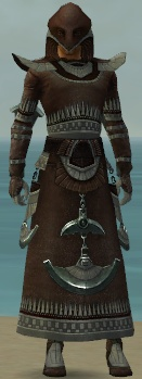 Dervish Ancient Armor M gray front
