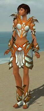 Paragon Primeval Armor F dyed front