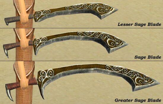 Sage Blades Comparison
