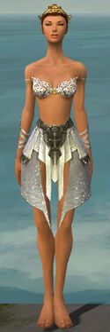 Paragon Elonian Armor F gray arms legs front