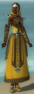 Dervish Asuran Armor F dyed front