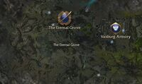 The Eternal Grove map