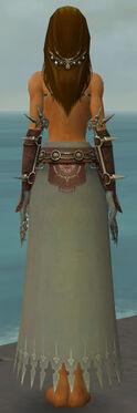 Dervish Sunspear Armor F gray arms legs back