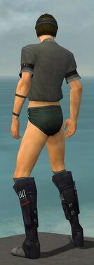 Assassin Shing Jea Armor M gray chest feet back