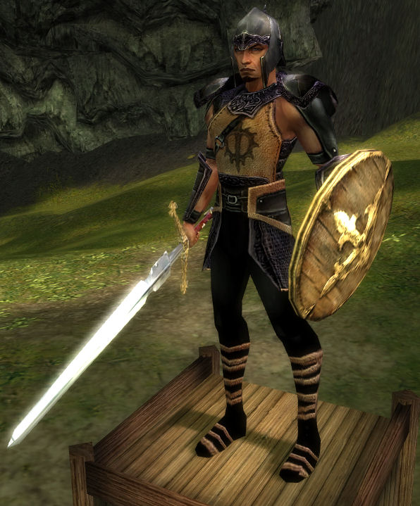 Warriors The New Prophecy Quest: Blade Warrior Derikk