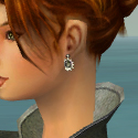 Elementalist Shing Jea Armor F gray earrings
