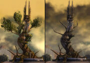 Melandru Statue