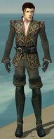 Mesmer Elite Noble Armor M gray front