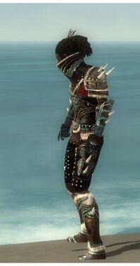 Necromancer Norn Armor M gray side
