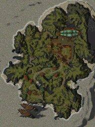 Warriors Isle map