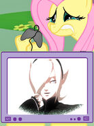 122140 - Ash Crimson crying ending fluttercry fluttershy gamercry gamershy King of Fighters KOF the king of fighters tv meme