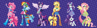 Equestria Girls March 2 2013 character designs