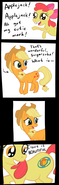 11131 - applejack apple bloom gyrobowl source missing