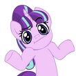 Starlight glimmer pony shrug by nano23823-d9x8tw7