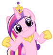 238068 safe artist-colon-tenaflyviper princess+cadance alicorn female -colon-i looking+at+you mare pony reaction+image shrug shrugpony simple+backgrou