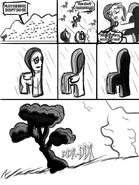 4127 - artist-chrisboe4ever comic fluttershy fluttertree junji ito leafing the dream parody sketch the enigma of amigara fault transformation tree