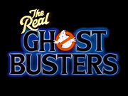 The Real Ghostbusters logo