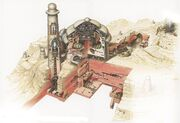 Palazzo Jabba esterni