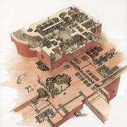 Palazzo Jabba interni