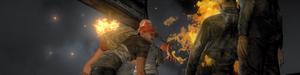 Удар факелом