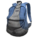 Icon Backpack Basic BlueGreyStripe