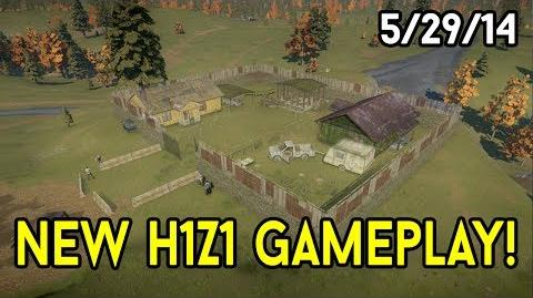 H1Z1 Gameplay Livestream (5 29 14) - Base Building, Crafting, Combat & more! (Full stream)
