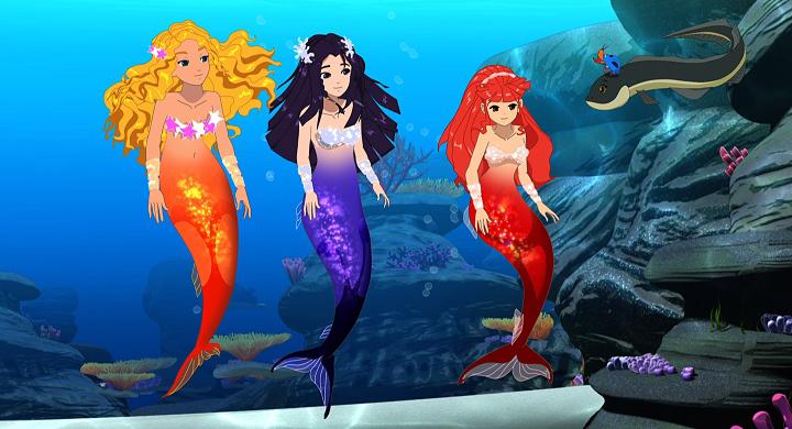 image  animated mermaids underwater  h2o just add