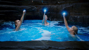 Girls using Moon Rings