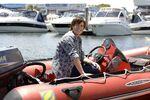 Zane On A Boat