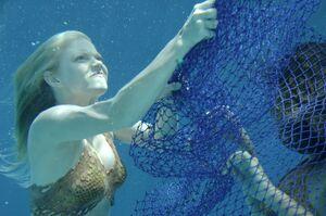 Mermaid Rikki Chadwick