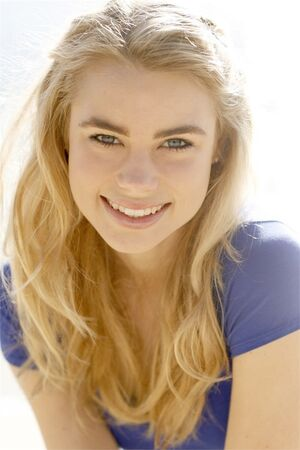 Lucy Fry Smiling
