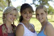 Rikki, Cleo, And Emma Smiling