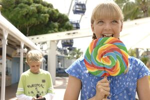 Kim With Lollipop