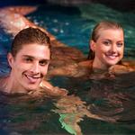 Erik and Ondina in Water