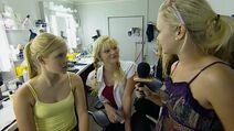 1x16 Claire and cariba interview bts 3