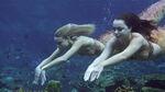 Nixie and Lyla at the Mako Reefs