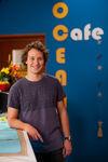 David in Ocean Café